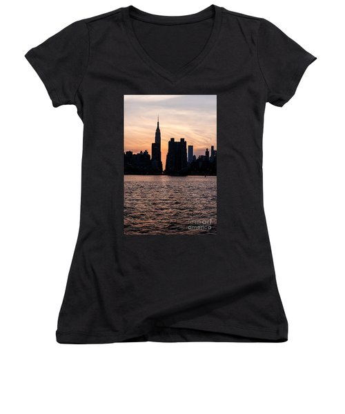 Empire On 5th Avenue Women's V-Neck