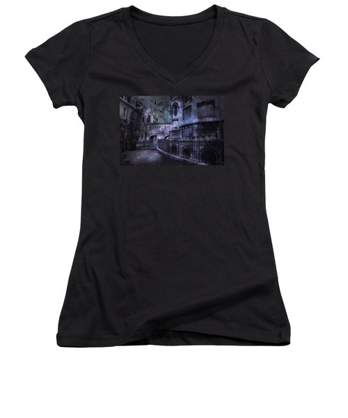 Enchanted Castle Women's V-Neck T-Shirt