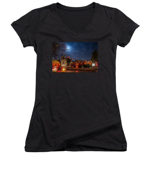 End Of The Road Women's V-Neck