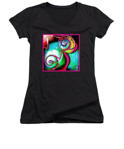 Escar A Go Go Women's V-Neck T-Shirt