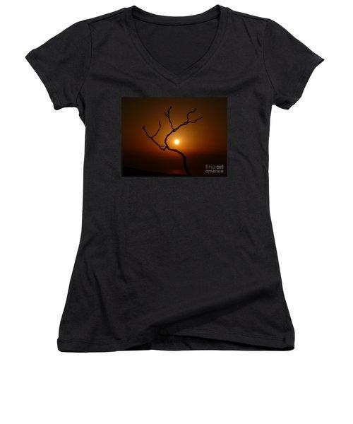 Evening Branch Original Women's V-Neck T-Shirt