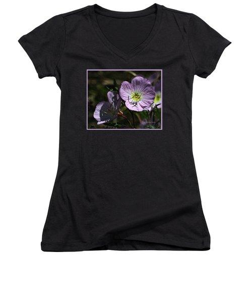 Evening Primrose Women's V-Neck T-Shirt