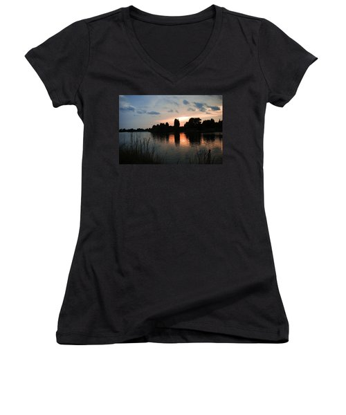 Evening Reflection Women's V-Neck