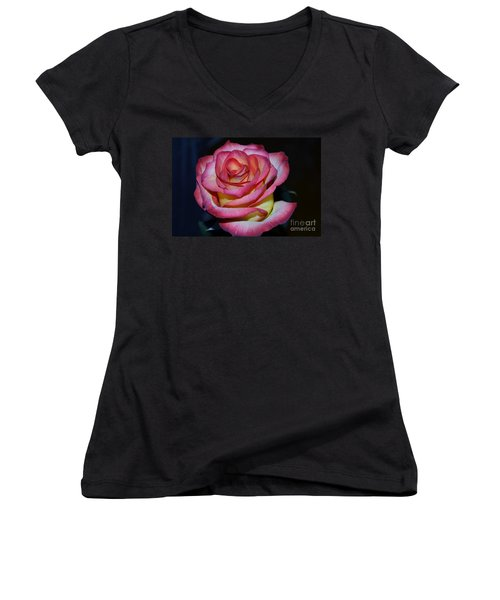 Event Rose Too Women's V-Neck (Athletic Fit)