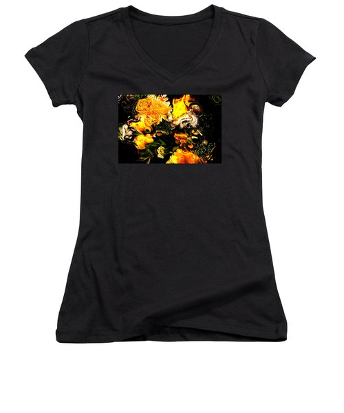 Ex Obscura Women's V-Neck T-Shirt