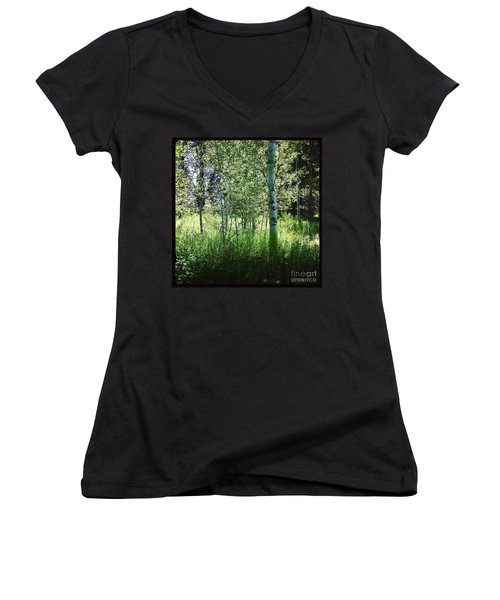 Fairy Circle Women's V-Neck (Athletic Fit)