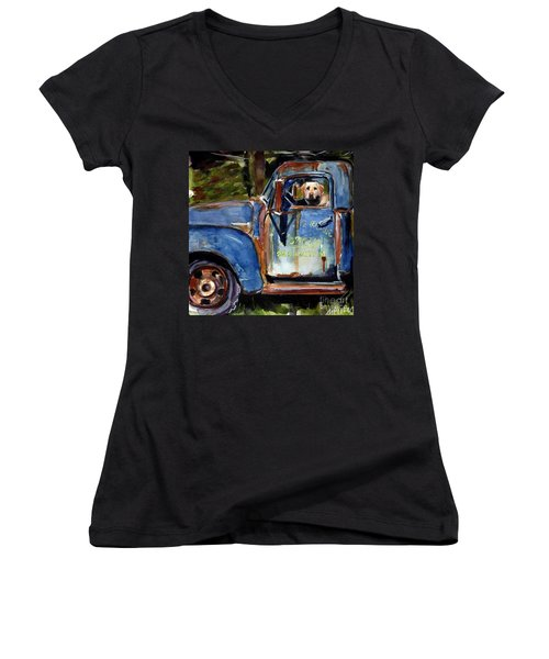 Farmhand Women's V-Neck (Athletic Fit)