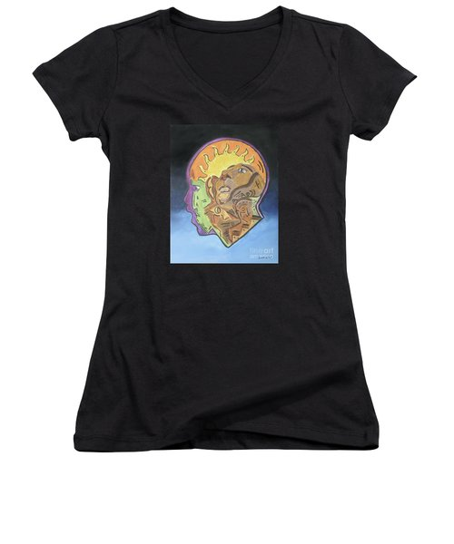Fear Of The Unknown Women's V-Neck