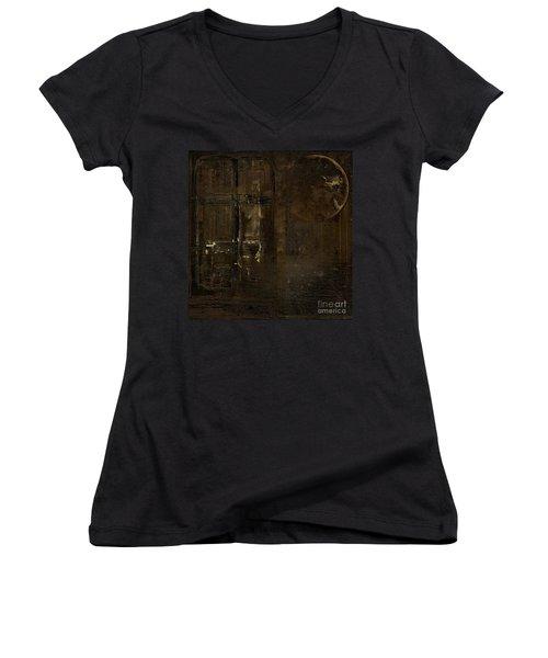 Feeling Invisible Women's V-Neck T-Shirt (Junior Cut) by Andrea Kollo