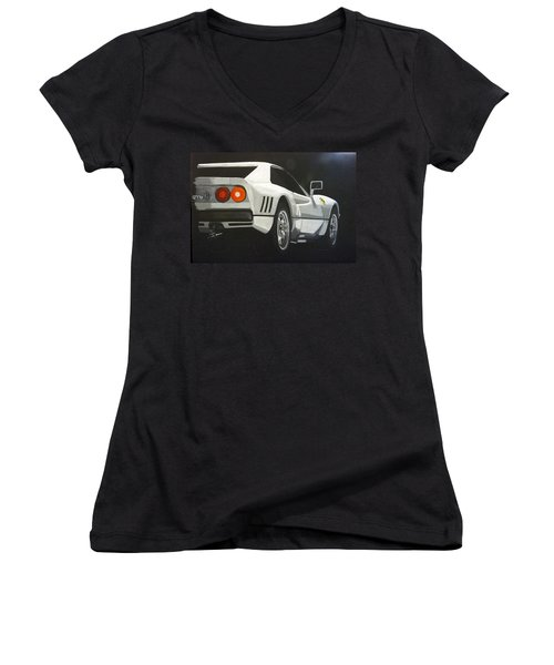 Ferrari 288 Gto Women's V-Neck