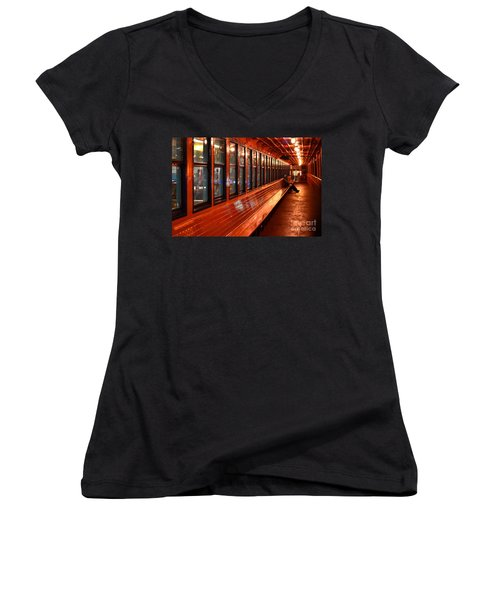 Ferry Boat Riders Women's V-Neck