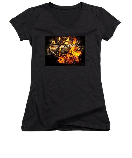 Fire Fairies Women's V-Neck