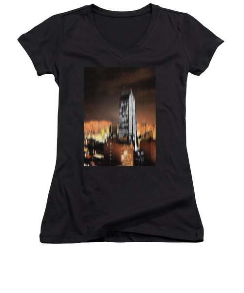 Fire Of Babylon Women's V-Neck T-Shirt