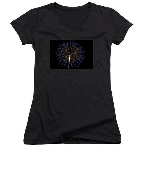 Fireworks Bursts Colors And Shapes 3 Women's V-Neck