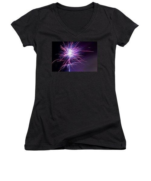 Fireworks - Purple Haze Women's V-Neck