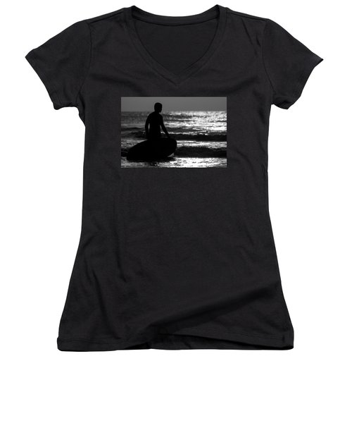 First Wave Women's V-Neck