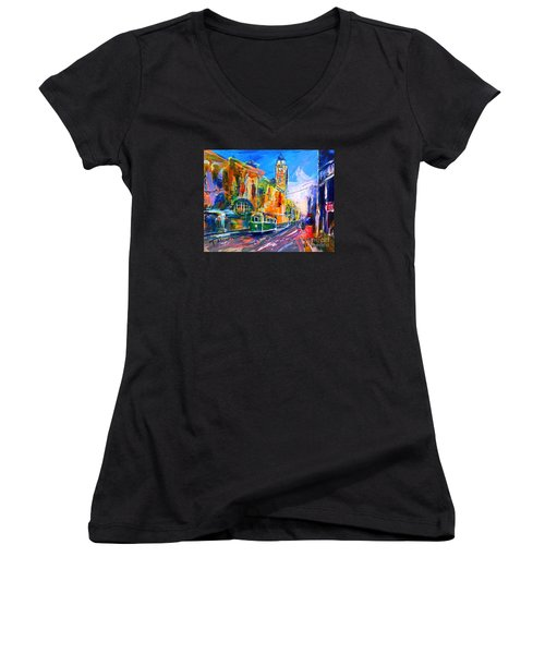 Flinders Street - Original Sold Women's V-Neck T-Shirt