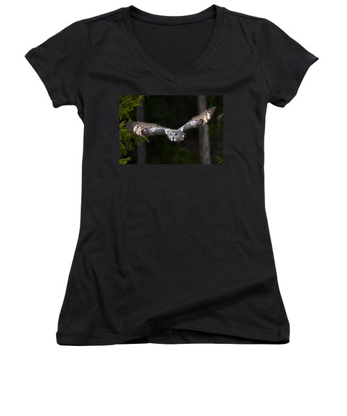 Focus On The Target Women's V-Neck (Athletic Fit)