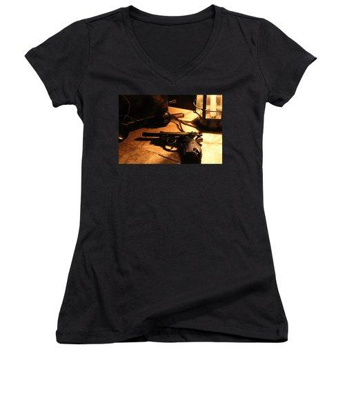 Following Orders Women's V-Neck T-Shirt
