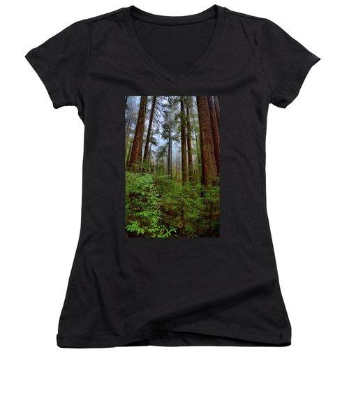 Forest Mist Women's V-Neck