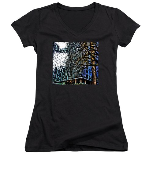 Form V. Function Women's V-Neck T-Shirt