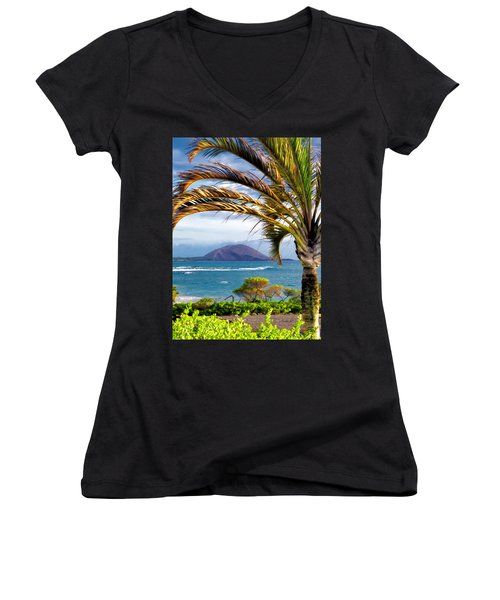 Four Seasons 110 Women's V-Neck T-Shirt (Junior Cut) by Dawn Eshelman