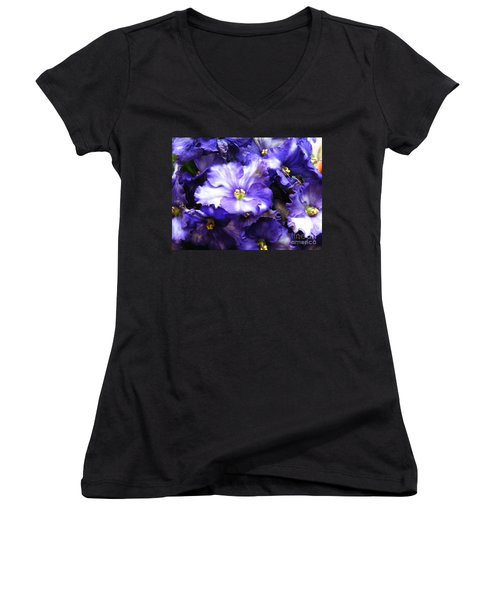 Frills Included Women's V-Neck (Athletic Fit)