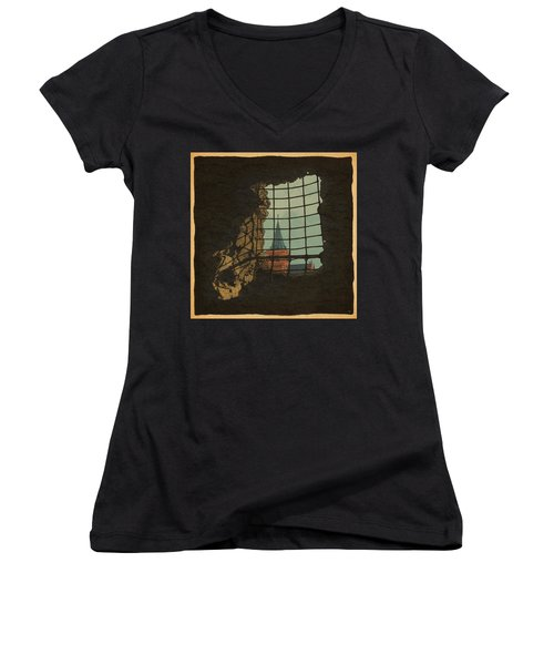 From A Castle Women's V-Neck T-Shirt