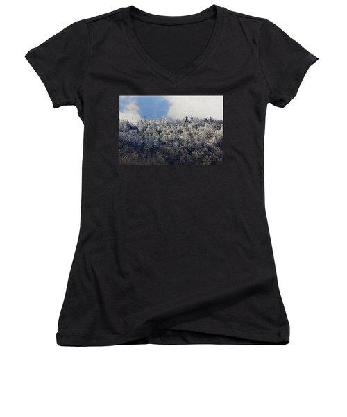 Frost Line Women's V-Neck T-Shirt
