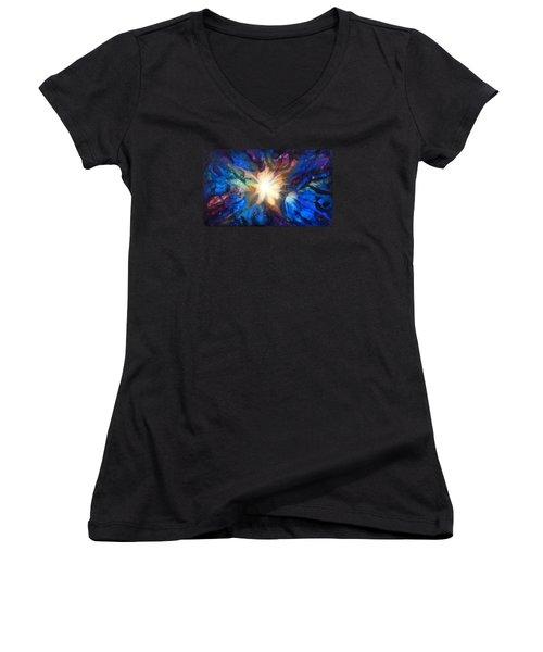 Flor Boreal Women's V-Neck T-Shirt