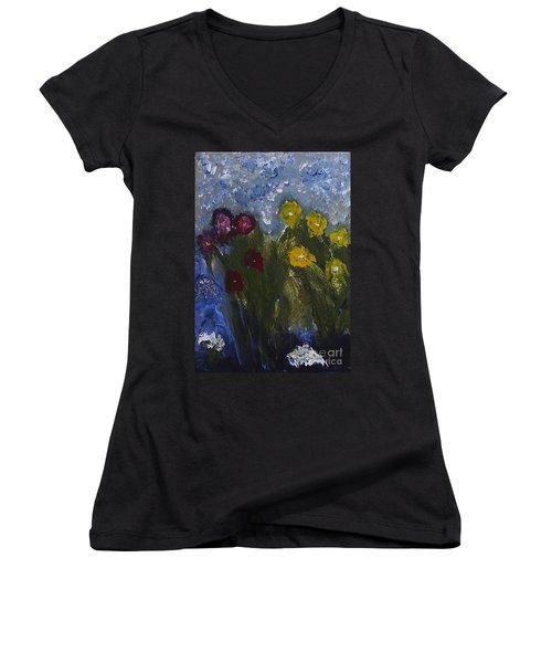 Garden Women's V-Neck T-Shirt
