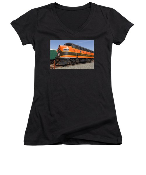 Garibaldi Locomotive Women's V-Neck