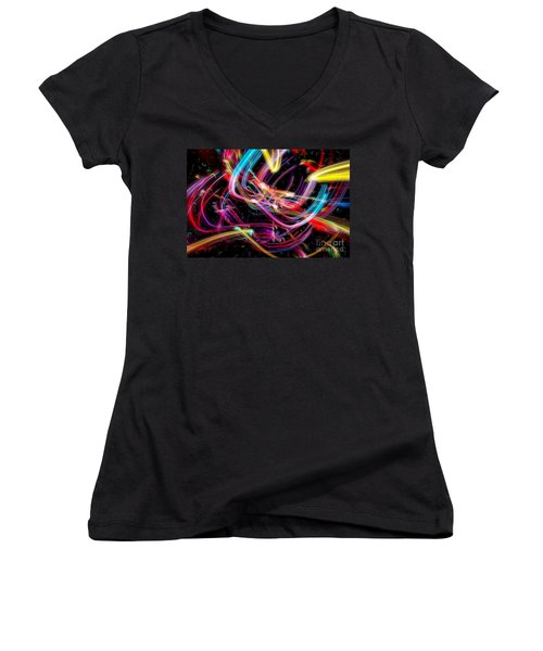 Glorious Celebration Women's V-Neck (Athletic Fit)
