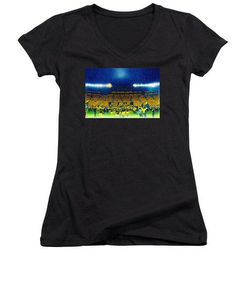 Glory At The Big House Women's V-Neck T-Shirt