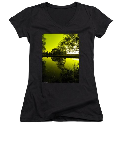 Golden Pond Women's V-Neck (Athletic Fit)