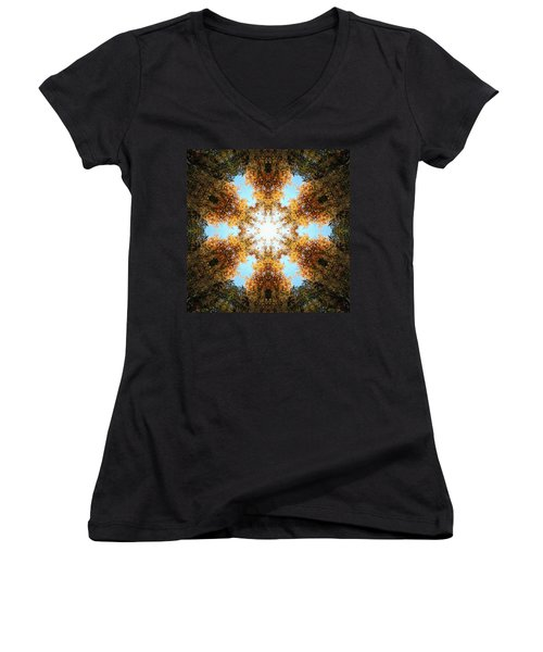 Golden Shimmer K2 Women's V-Neck (Athletic Fit)