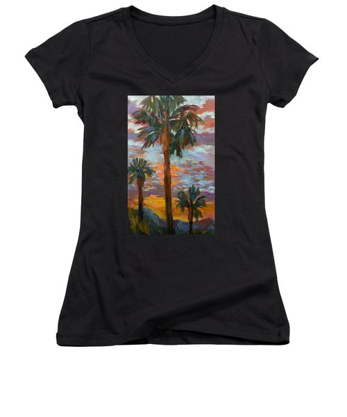 Golden Sunrise Women's V-Neck