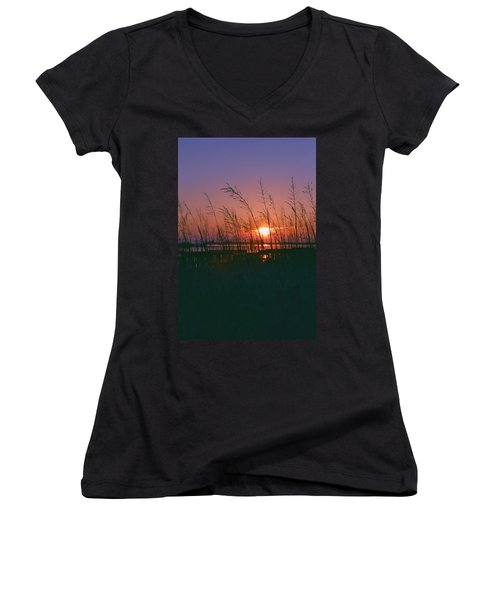 Goodnight Sun Women's V-Neck