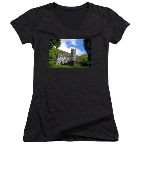 Gothic Church Women's V-Neck