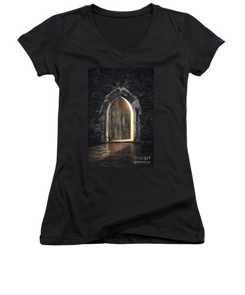 Gothic Light Women's V-Neck (Athletic Fit)