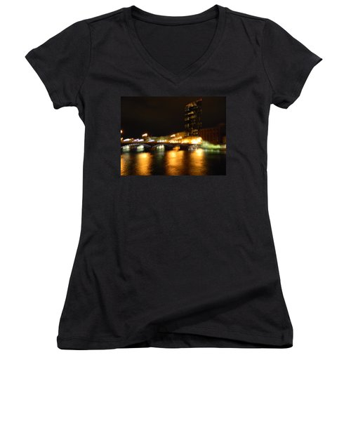 G.r. Grand River Glow Women's V-Neck (Athletic Fit)