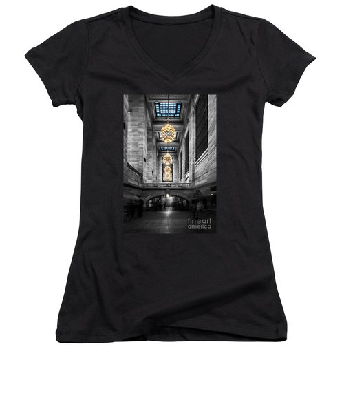 Grand Central Station IIi Ck Women's V-Neck (Athletic Fit)