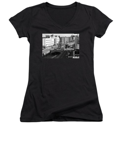 Grand Concourse Bronx Women's V-Neck