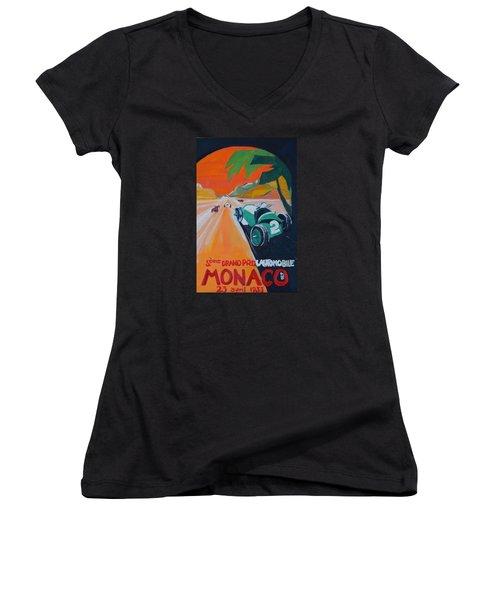 Grand Prix Women's V-Neck T-Shirt
