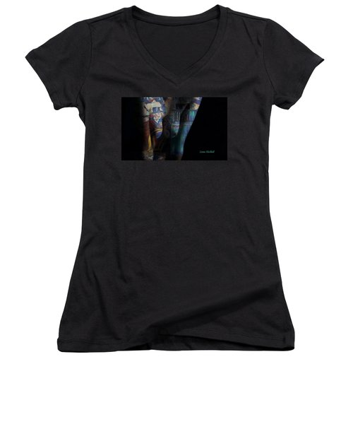 Graphic Artist Women's V-Neck (Athletic Fit)