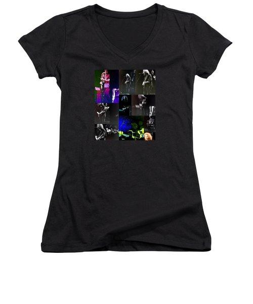 Grateful Dead - Nothing Like A Grateful Dead Concert Women's V-Neck (Athletic Fit)