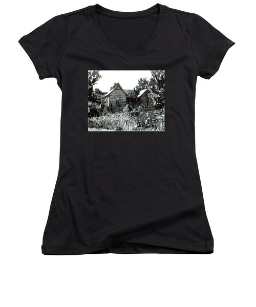 Greatgrandmother's House Women's V-Neck (Athletic Fit)