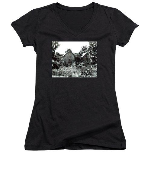 Greatgrandmother's House Women's V-Neck T-Shirt