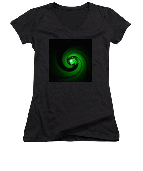 Green Lantern  Women's V-Neck (Athletic Fit)