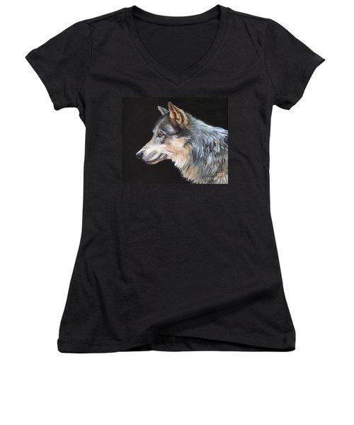 Grey Wolf Women's V-Neck